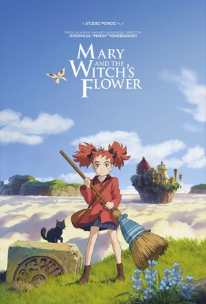 Mary and the Witch's Flower (2017) Film Poster