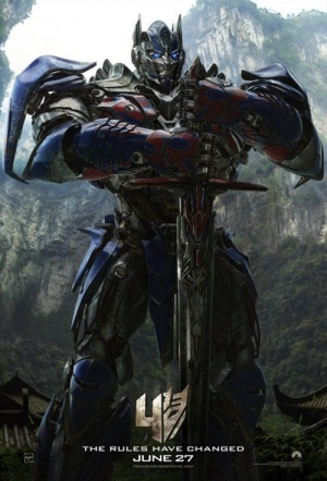 Transformers: Age of Extinction 3D Film Poster