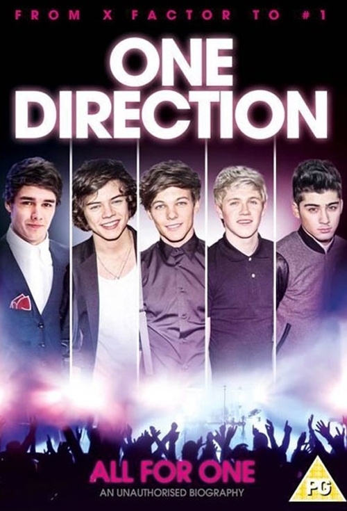 movie poster for one direction all for one flicks