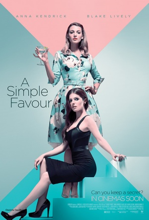 A Simple Favour Film Poster