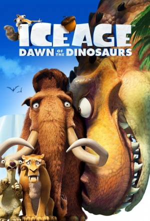 Ice Age: Dawn of the Dinosaurs 3D Film Poster