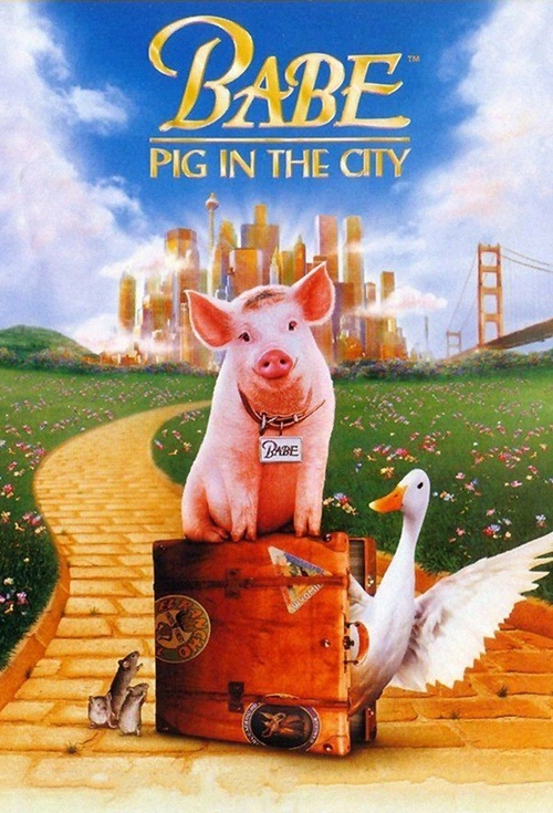 Babe: Pig in the City Film Poster