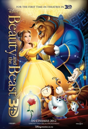 Beauty and the Beast 3D (2010) Film Poster