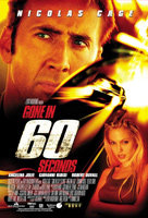 Gone in Sixty Seconds Film Poster
