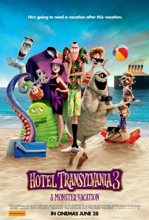 Hotel Transylvania 3 3D: A Monster Vacation Film Poster