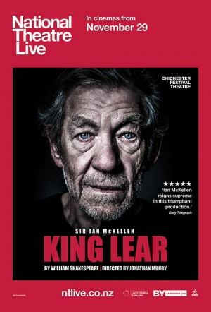 NT Live: King Lear Film Poster