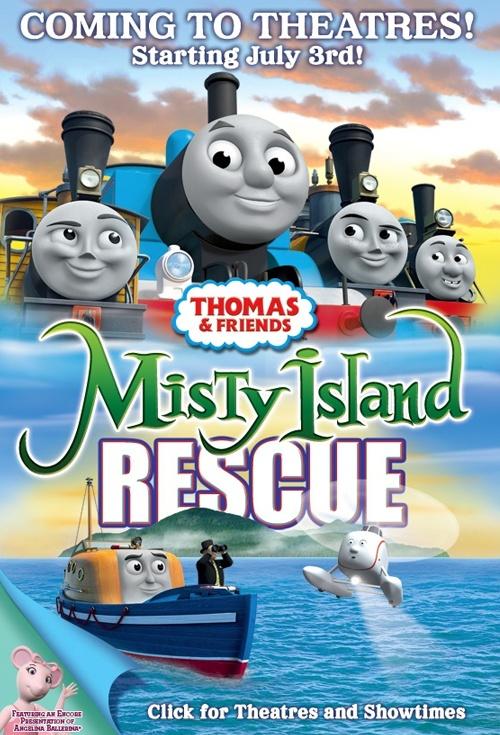 Thomas Friends Misty Island Rescue Movie Poster