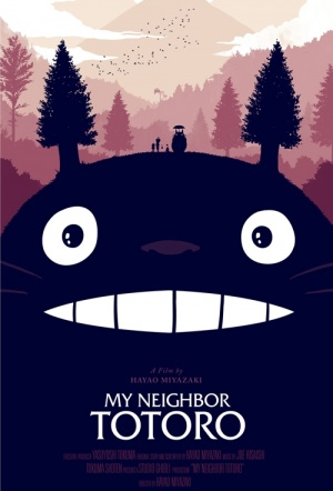 My Neighbour Totoro Film Poster