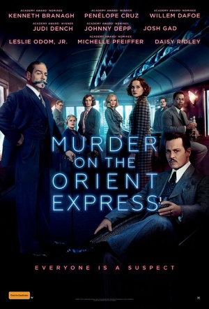 Murder on the Orient Express (2017) Film Poster