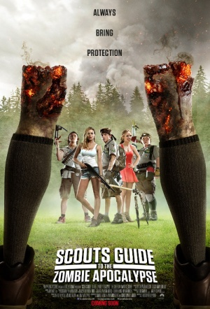 Scouts Guide to the Zombie Apocalypse Film Poster