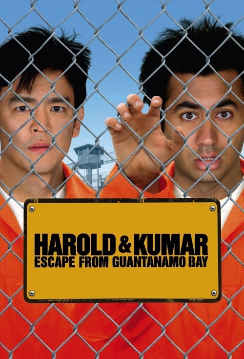 Harold & Kumar Escape from Guantanamo Bay Film Poster