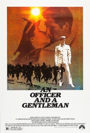 An Officer and a Gentleman Film Poster