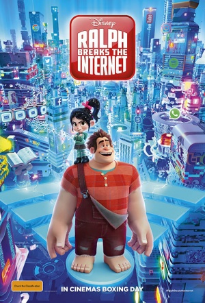 Ralph Breaks the Internet 3D Film Poster