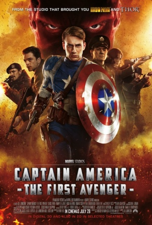 Captain America: The First Avenger 3D Film Poster