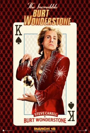 The Incredible Burt Wonderstone Film Poster