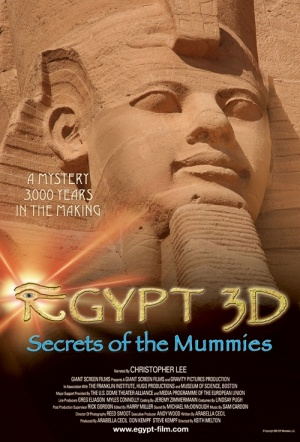 Egypt 3D: Secrets of the Mummies Film Poster