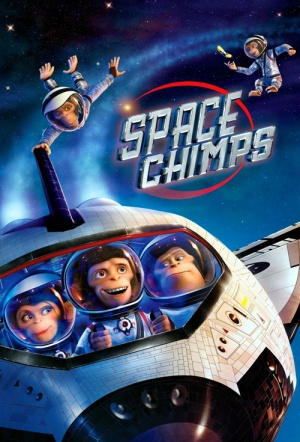 Space Chimps Film Poster