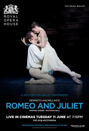 Royal Ballet: Romeo and Juliet Film Poster