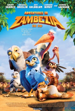 Adventures in Zambezia 3D Film Poster