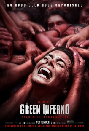 The Green Inferno Film Poster