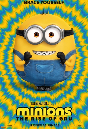 Minions 3D: The Rise of Gru Film Poster
