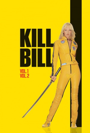 Double Feature: Kill Bill Film Poster
