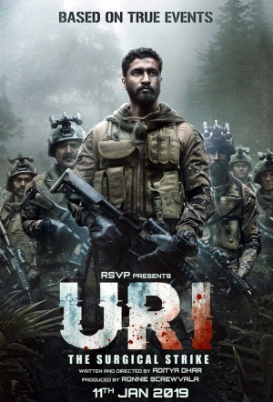 Uri: The Surgical Strike Film Poster
