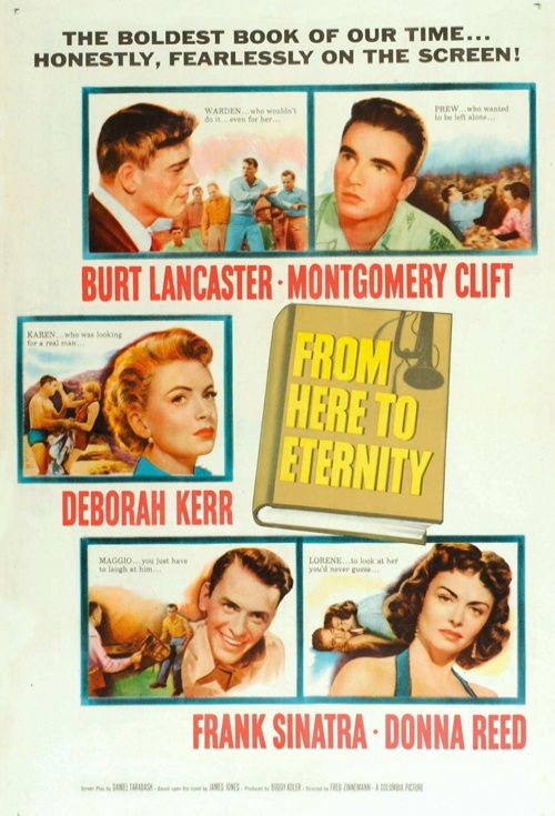From Here to Eternity Film Poster