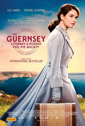 The Guernsey Literary and Potato Peel Pie Society Film Poster