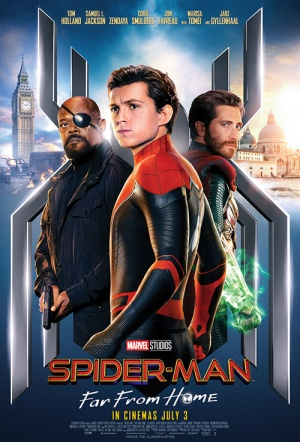 Spider-Man: Far From Home 3D Film Poster
