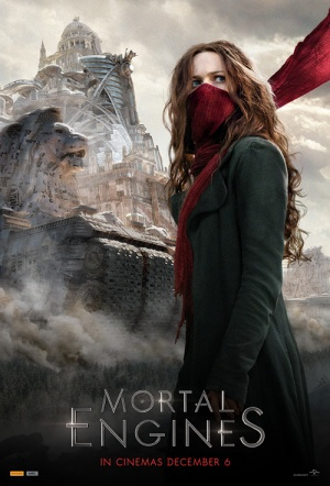 Mortal Engines 3D Film Poster