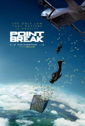 Point Break 3D (2015) Film Poster