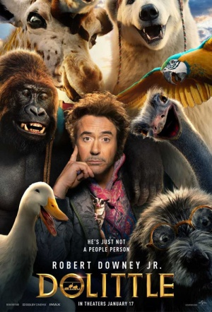 The Voyage of Doctor Dolittle Film Poster