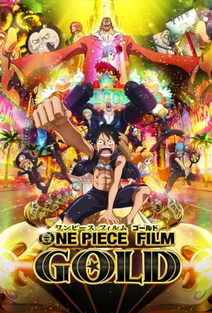 One Piece Film: Gold Film Poster