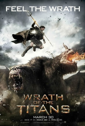 Wrath of the Titans 3D Film Poster