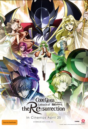 Code Geass: Lelouch of the Re;surrection Film Poster