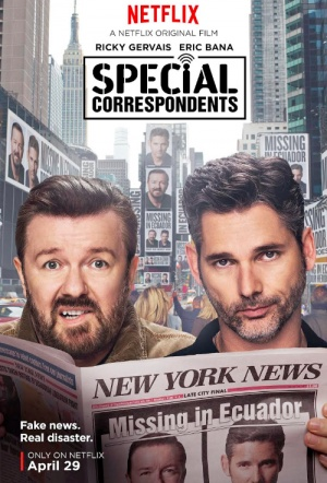 Special Correspondents Film Poster