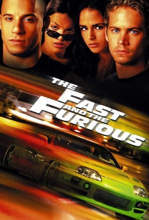 The Fast and the Furious Film Poster