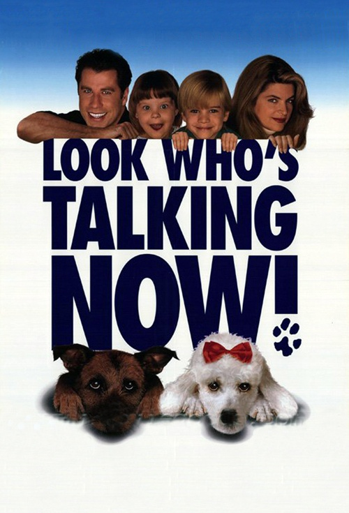 Look Who's Talking Now Film Poster