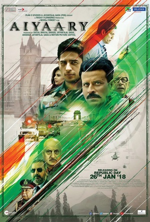 Aiyaary Film Poster