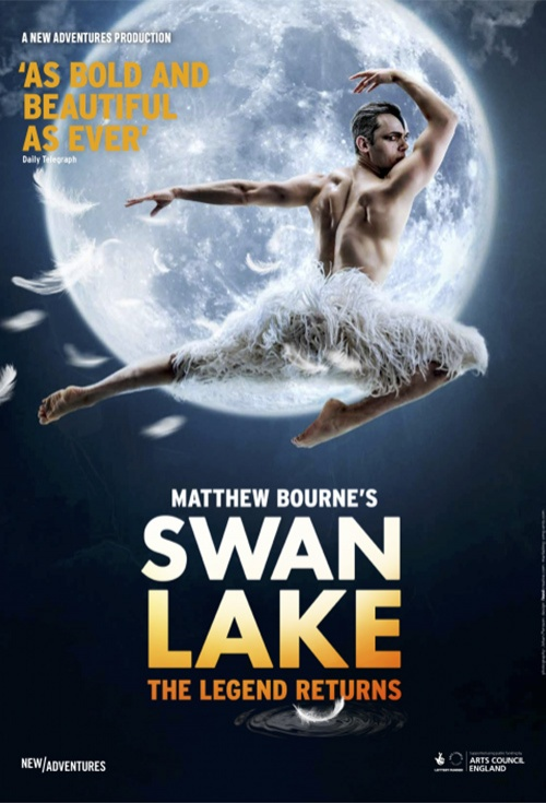 Poster for Matthew Bourne's Swan Lake | Flicks.co.nz