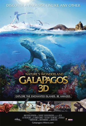 Galapagos 3D: Nature's Wonderland Film Poster