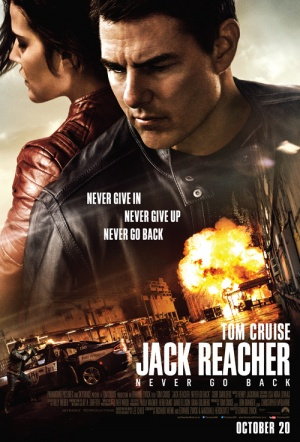 Jack Reacher: Never Go Back Film Poster