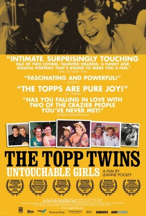 Topp Twins: Untouchable Girls Film Poster