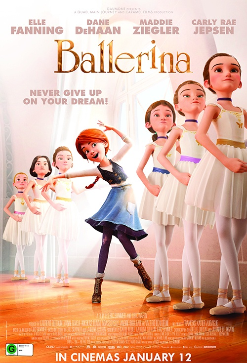 Movie Poster For Ballerina