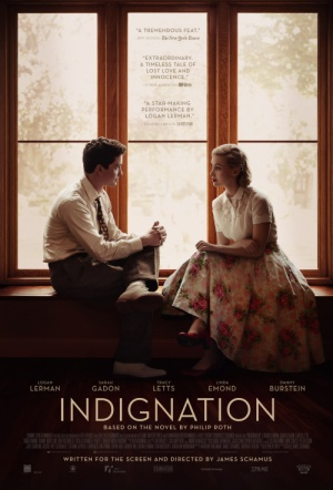 Indignation Film Poster