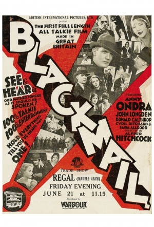 Blackmail (1929) Film Poster