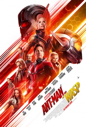 Ant-Man and the Wasp 3D Film Poster
