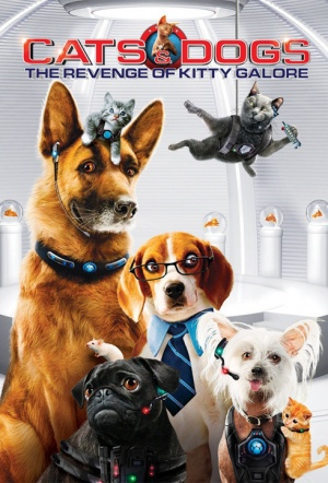 Cats & Dogs: The Revenge of Kitty Galore 3D Film Poster
