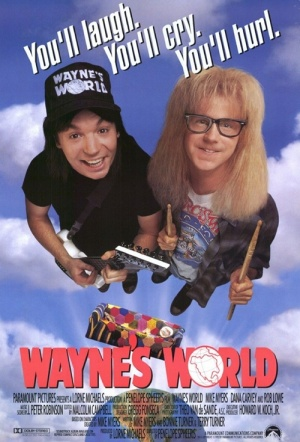 Wayne's World Film Poster